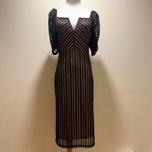 Topshop tfnc - Striped dress